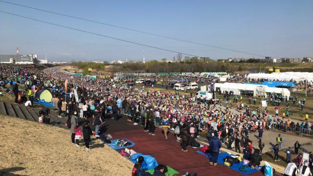 板橋シティマラソン2019レポート!初マラソンでも安心!?コースや給水所など当日の様子を紹介します。
