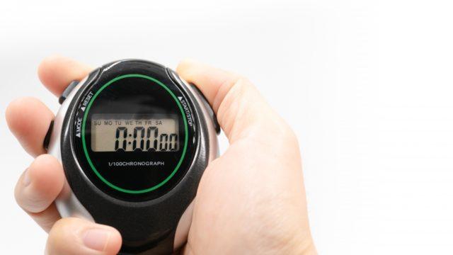 マラソン目標タイムを設定